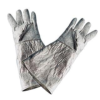 RIMAG Hitzehandschuhe Schweisserhandschuhe Handschuhe Kevlar VPE 1 Paar, Länge:35 cm