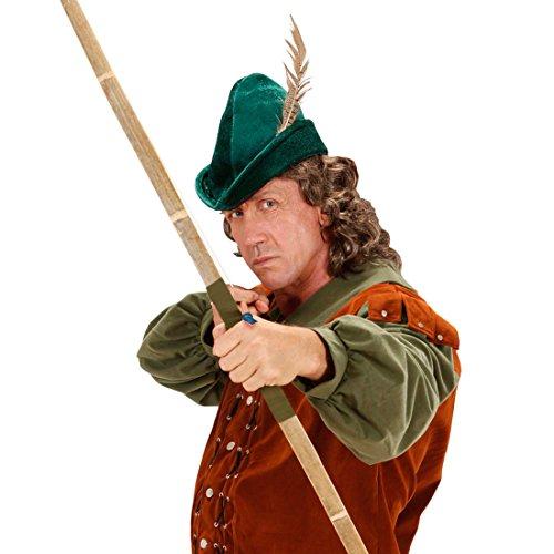 Kostüm Zubehör Robin - NET TOYS Robin Hood Hut Spitzhut grün Robin Hood Kappe Bogenschütze Mütze Mittelalter Hut Kostüm Zubehör