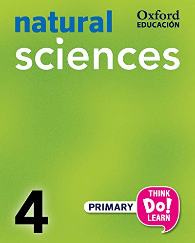 Think Do Learn Natural Science 4th Primary. Student's Book (+ CD) - 9788467392326