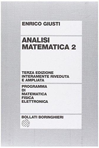 Analisi matematica: 2
