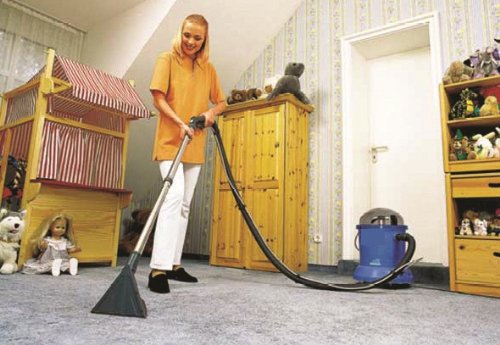 Nilfisk Home Cleaner, Staubsauger, blau, 303000002
