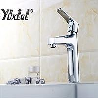 Caribou Faucet Caribou@Basin Mixer Tap Lavatory Mixer Tap All Copper Chrome Plating Bathroom Sink Faucet Washroom Basin Mixer Taps
