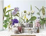 BHXINGMU Benutzerdefinierte Wandbilder Fototapeten Blumen Großes Schlafzimmer Wohnzimmer Dekoration Aufkleber 150Cm(H)×200Cm(W)