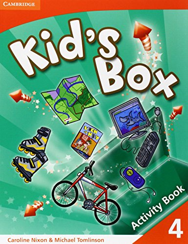 Kid's Box 4 Activity Book: Level 4 - 9780521688192