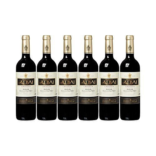 Castillo De Albai - Crianza, Botella 75 Cl D.O.C. Rioja, Pack De 6 Botellas