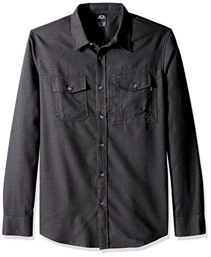 camisa-de-manga-larga-oakley-adobe-jet-negro-heather-m-negro