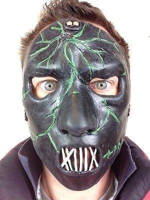 Slipknot Stile Paul Maschera Di Lattice Spaventosa Ghost Faccia Festa In Maschera Heavy Metal Monster