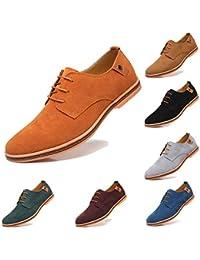 AARDIMI Herren Schnürhalbschuhe Klassische Oxford Wildleder Schuhe Smoking Schuhe  Anzugschuhe Business Herren Halbschuhe aa47be19cb