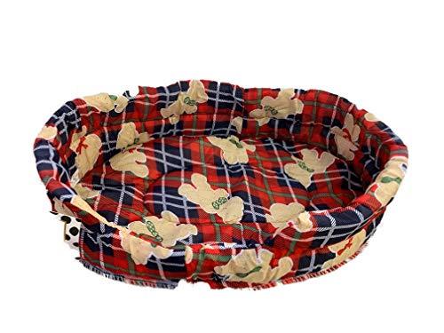 Ducomi® Fufy 2 - Cama Perros Gatos Oxford - Suave