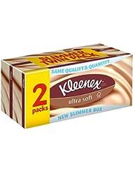 Kleenex Ultra tissus mous (80 par paquet x 2) - Paquet de 6