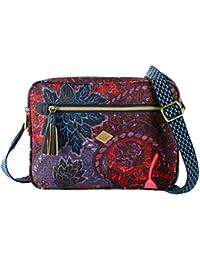Oilily Paisley S Shoulder Bag Dark Blue