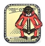 Calcolatrice manuale in Latta deco Scimmia