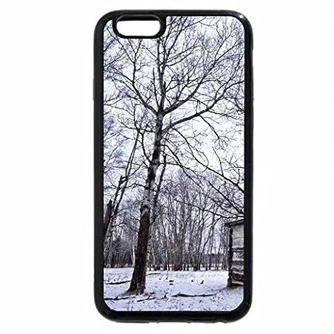 iPhone 6S Plus Case, iPhone 6 Plus Case, Cabin-Winter scene