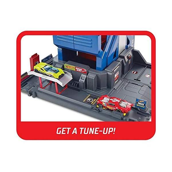 Hot Wheels Mega Autolavaggio Playset per Macchinine con Pista Selvaggia e Coccodrillo, Torre dell'Acqua, Vasca del… 5 spesavip