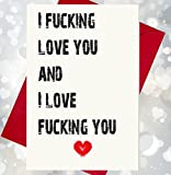 I Love You - Rude / Blunt Card