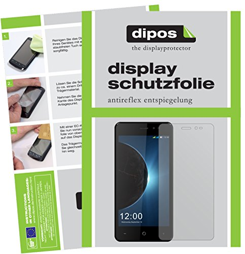 dipos I 2X Schutzfolie matt passend für Leagoo Z6 Folie Displayschutzfolie