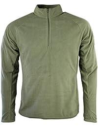 Kombat UK Men's Alpha Mid-Layer Fleece