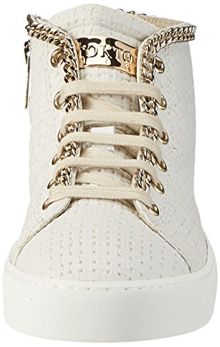 Stokton Damen 515-d Hohe Sneaker Weiß (Bianco)
