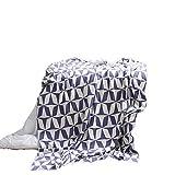 DMMASH Sofa Blankets Teppichdecke mit weichen Bedrucken Knitted Blanket,Purple,130 * 180cm