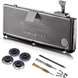 """ICERO 6000mAh Bonne qualité Nouveau Batterie Ordinateur PC Portable pour Apple MacBook Pro 13"""" A1322 A1278 (Mid 2009 Mid 2010 Early 2011 Late 2011 Mid 2012) [Li-ION 10.95V 65.5Wh] A1322"""