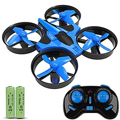JoyGeek RC Quadcopter, Mini Quadcopter Drone, 2.4G 4CH 6 Axis Headless Mode 360° UFO Drone, Flips & Rolls Remote Control One Key Return Helicopter