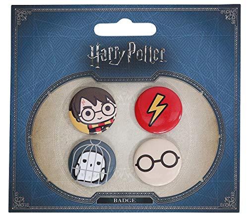 51ev9K%2BZ9dL - Set 4 Pin Harry Potter Surtido
