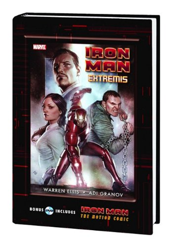 Iron Man: Extremis With Motion Comic Dvd