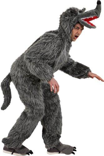 Wolf Damen Kostüm - Wolf Kostüm für Herren