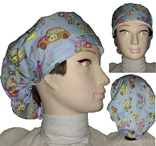 Hut chirurgisch Kinderwagen Für lange Haare. Handtuch auf der Stirn Einfache Einstellung mit Spanner. Baumwolle Handmade