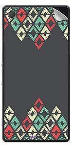 GsmKart SXZ2 Mobile Skin for Sony Xperia Z2 (Grey, Xperia Z2-460)
