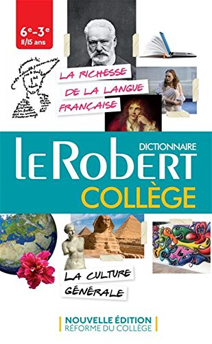 Le Robert College : Dictionnaire : Secondary and College por Collectif