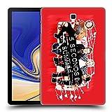 Head Case Designs Offizielle 5 Seconds of Summer Sofa Rot Gruppenbild Derp Ruckseite Hülle für Samsung Galaxy Tab S4 10.5 (2018)