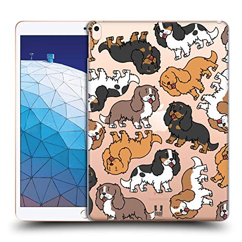 Head Case Designs Cavalier King Charles Spaniels Hunderasse Muster 3 Harte Rueckseiten Huelle kompatibel mit iPad Air (2019) -