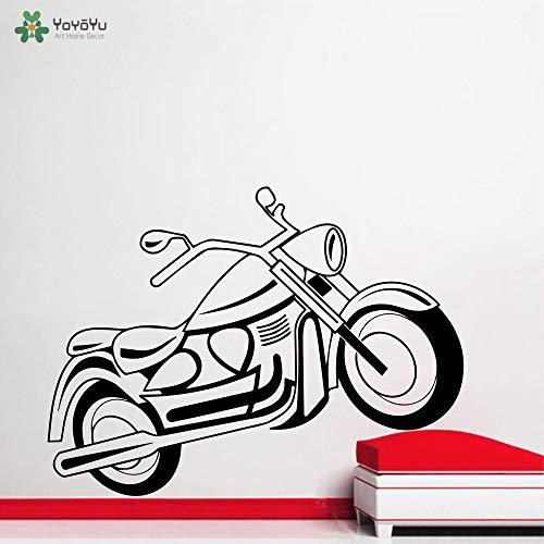 Wandtattoo Vinyl Kunst Wohnkultur Aufkleber Fahrrad Motorrad Sport Aufkleber Kinderzimmer Dekoration Abnehmbare Poster 42X57 cm -
