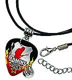 Administrator Admin Assistant Admins Rock Plektrum Halskette Leder Schnur Necklace (R1)