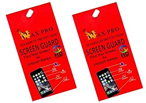 Max Pro Clear Screen Guards Pack of 2 Sony Xperia C4