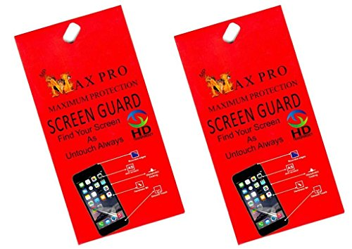 Max Pro Clear Screen Guards Pack of 2 Samsung B312 Metro  available at amazon for Rs.289