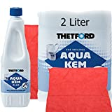 THETFORD Thetford Aqua Kem Blue incl. Poliertuch 30 x 30 cm