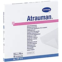 Hartmann Pflaster Atrauman Ag 7,5x 10cm Pack 10 preisvergleich bei billige-tabletten.eu
