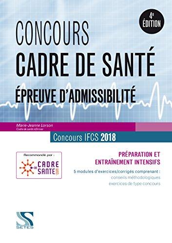 Concours Cadre de Sante 2018 - Epreuve d'admissibilité