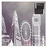 London Eye Big Ben Design Einschlüpfen Fotoalbum Hält 200 4 X 6
