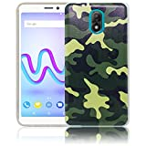 Wiko Lenny 5 Camouflage Handy-Hülle Silikon - staubdicht, stoßfest & leicht - Smartphone-Case thematys
