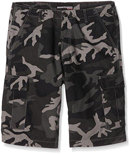 Urban Classics Herren Camouflage Cargo Shorts, Mehrfarbig (Urban Camo 378), 50 (Herstellergröße: 36) (Camo Short)
