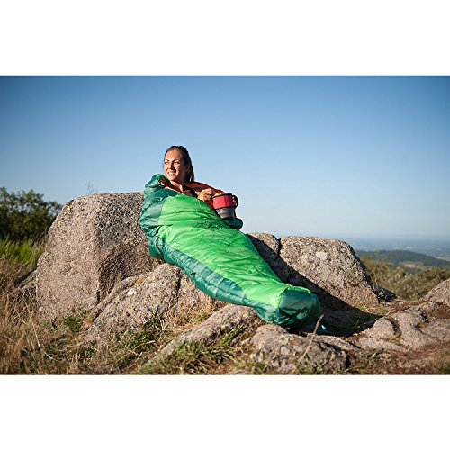 51evLr%2Br7dL. SS500  - Coleman Sleeping Bag Fision 100/200, Single Mummy Sleeping Bag, Indoor & Outdoor, Lightweight & Compact, For Adults