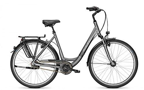 Citybike Raleigh UNICO XXL 8-Gang Wave 28' bis 170 kg belastbar Freilauf , Rahmenhöhen:55;Farben:Torontogrey