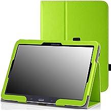 MoKo–Funda fina y plegable para Tablet Samsung Galaxy Note Pro 12.2, Tab 3Lite 7, Tab 47.0, Tab 48.0, Tab 410.1, Tab Pro 8.4, Tab Pro 10.1 verde verde para Galaxy Tab 4 10,1