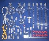 Gowe kit vetreria da laboratorio, con giunti 24/40, DES244003, vetro borosilicato, New chimica avanzata