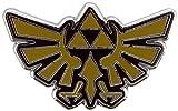 Broche insigne officielle Nintendo Legend of Zelda Hyrule Crest en émail - En boîte