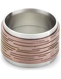 Esprit Ring Edelstahl embers