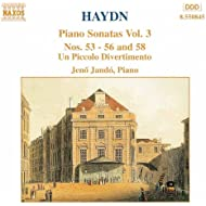 Haydn: Piano Sonatas Nos. 53-56 And 58 / Un Piccolo Divertimento